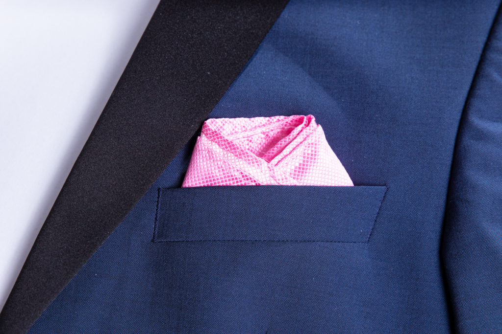The Shell fold in the pocket brest